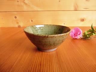松灰釉の飯碗: 中岡陶房工芸が手掛けたです。