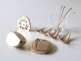 暮らすひと暮らすところ CozinhaAcessórios e têxteis Cobre/Bronze/Latão Ambar/dourado