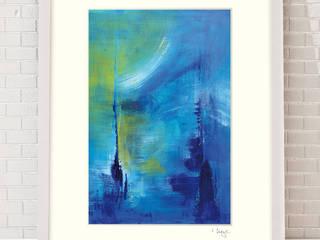 Fine Art Print auf Hahnemühle Künstlerpapier - hochwertige Reproduktion 200x300 mm inkl. Passepartout +++limitierte Edition+++: modern  von MI Irina Meye Kunst // Fotografie Hamburg,Modern