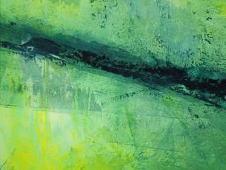 """ORIGINAL Abstrakte Kunst / moderne Malerei auf Künstlerpapier """"TRILOGIE"""" - inkl. Passepartout: modern  von MI Irina Meye Kunst // Fotografie Hamburg,Modern"""