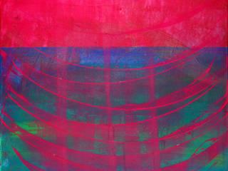"""ORIGINAL Abstrakte Kunst / moderne Malerei auf Leinwand """"SEIDENSPINNER"""": modern  von MI Irina Meye Kunst // Fotografie Hamburg,Modern"""
