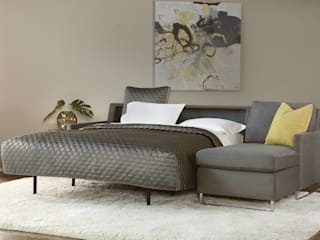 寝心地重視のソファーベッド「コンフォートスリーパー」: American Leather Japan LLCが手掛けたです。,