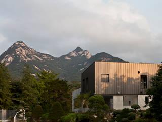 Bukhansan Dulegil house 모던스타일 주택 by designband YOAP 모던