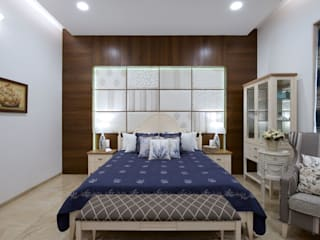 The Hills Eclectic style bedroom by Studio A Eclectic