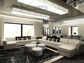 Salon moderne par Inventive Interiors Moderne