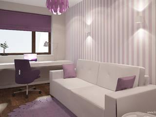 Modern Kid's Room by Klaudia Tworo Projektowanie Wnętrz Sp. z o.o. Modern