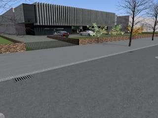 Unidade Industrial: Casas  por FP Arquitetos
