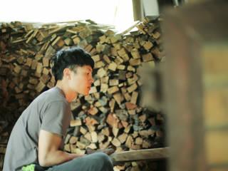窯焚き: 庚申窯-Koshin-kiln-が手掛けた折衷的なです。,オリジナル