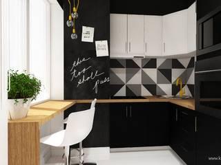 Moderne Küchen von Klaudia Tworo Projektowanie Wnętrz Sp. z o.o. Modern