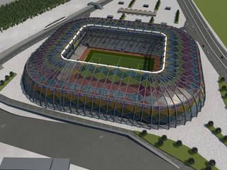 Boyut Animasyon – mimari modelleme:  tarz Stadyumlar