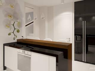 Modern Kitchen by Klaudia Tworo Projektowanie Wnętrz Sp. z o.o. Modern