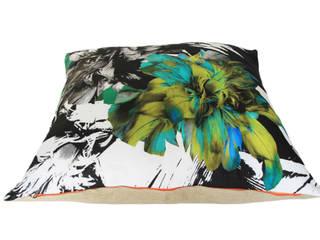 "Coussin de sol ""LUCI"" The Avelinos ArtObjets d'art Lin Multicolore"