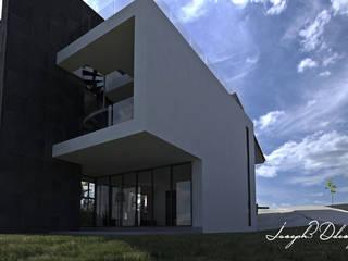 Maisons industrielles par Iluminature Industriel Béton
