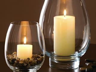 Hurricane Lamps for Pillar Candles de The London Candle Company Clásico