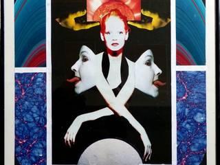 Collagen Ausgefallener Multimedia-Raum von Dietrich Art Ausgefallen