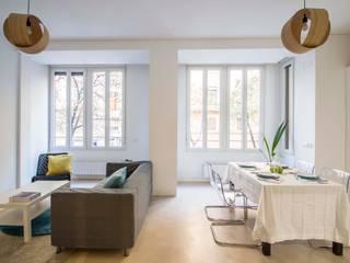 DonateCaballero Arquitectos Minimalist living room