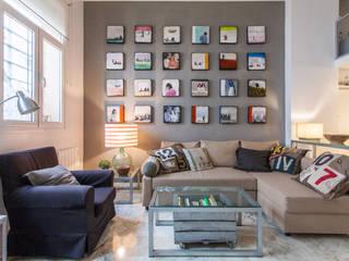 Phòng khách theo Pablo Cousinou, Hiện đại