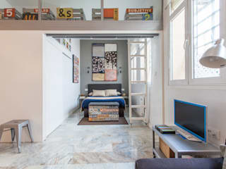 Apartamento Moderno en Sevilla Dormitorios de estilo moderno de Pablo Cousinou Moderno
