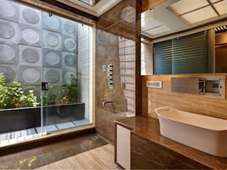 Apartment at Tirupur:  Bathroom by Cubism