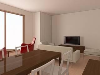 İdea İç Mimarlık – Bayat Konut Dönüşüm: modern tarz Oturma Odası