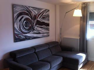 Cuadros en los salones Salones de estilo moderno de AZD Diseño Interior Moderno