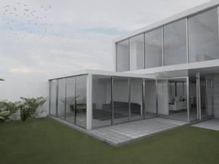 Casa Montes de Oca Casas modernas de Alterno Moderno
