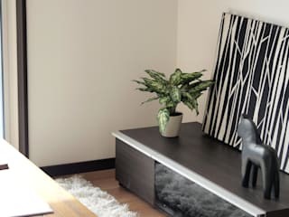Live Sumai - アズ・コンストラクション - Living roomTV stands & cabinets Wood Black