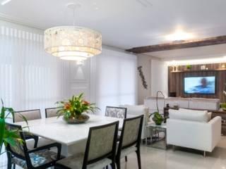 Projetos de Interiores Residenciais Salas de jantar modernas por Nilda Merici Interior Design Moderno