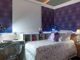 Projetos executados e em andamento Quarto infantil moderno por Nilda Merici Interior Design Moderno