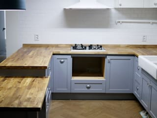 Minimalist kitchen by 목소리 Minimalist