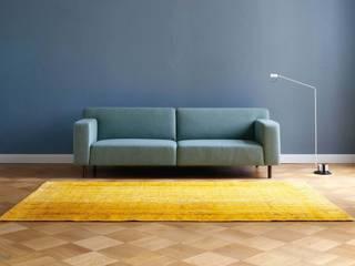 """ARGILE Interieur matt """"argile bleue"""" : moderne Wohnzimmer von Mauri - Art GmbH"""