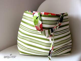 Aequorea Home Collection - Apples & Stripes Aequorea CasaContenitori Cotone