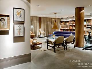 Living room by silvana albuquerque arquitetura e design