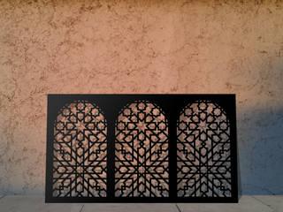 Beautiful laser cut screens and laser cut panels in Moroccan Minaret design:   by Laser cut Furniture & Screens