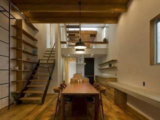 北方の家 浦瀬建築設計事務所 オリジナルデザインの キッチン
