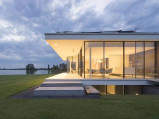 Achtergevel:  Huizen door Lab32 architecten