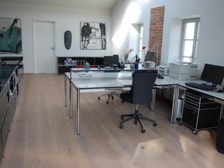 Oficinas y bibliotecas de estilo moderno de Hain Parkett Moderno