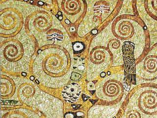 Фрагмент работы Г.Климта «Дерево жизни»:  в . Автор – Мастерская художественной мозаики 'SMALTO'