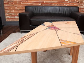 Table Vitrail par Cercus Marqueterie Moderne