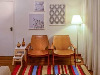 APTO VG: Salas de estar  por KFOURI ZAHARENKO arquitetura e design,Moderno