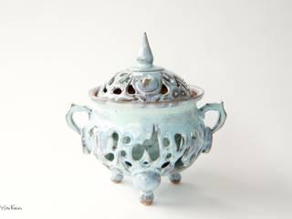 香炉: 庚申窯-Koshin-kiln-が手掛けた折衷的なです。,オリジナル