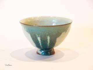 抹茶碗: 庚申窯-Koshin-kiln-が手掛けた折衷的なです。,オリジナル