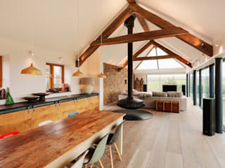 Down Barton, Devon Trewin Design Architects Kitchen