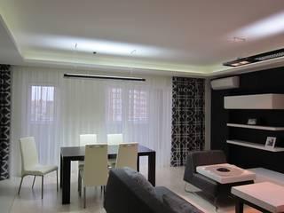 Phòng ăn phong cách tối giản bởi ann-ulya Tối giản