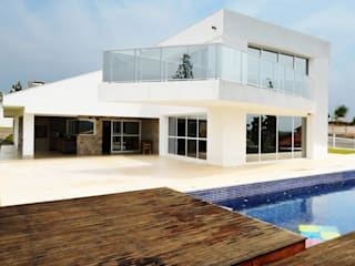 Casa CA Piscinas modernas por Arquitetura 1 Moderno