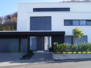 Modern houses by Diemer Architekten Part. mbB Modern