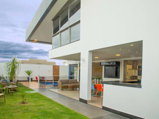 Casa AE Jardins modernos por Arquitetura 1 Moderno