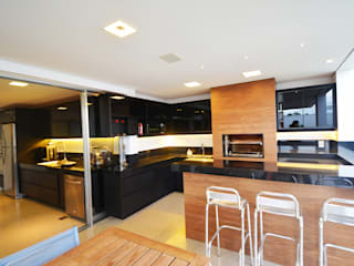 Casa AE Varandas, alpendres e terraços modernos por Arquitetura 1 Moderno
