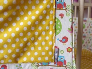 Dettaglio tasca porta-pigiama Aequorea -BirdsOwls:  in stile  di Aequorea