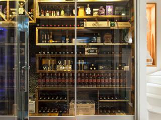Bodegas de vino de estilo moderno de daniela andrade arquitetura Moderno